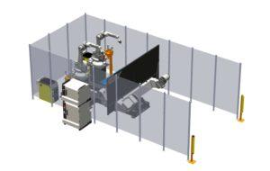 3D Simulering av robotmiljö